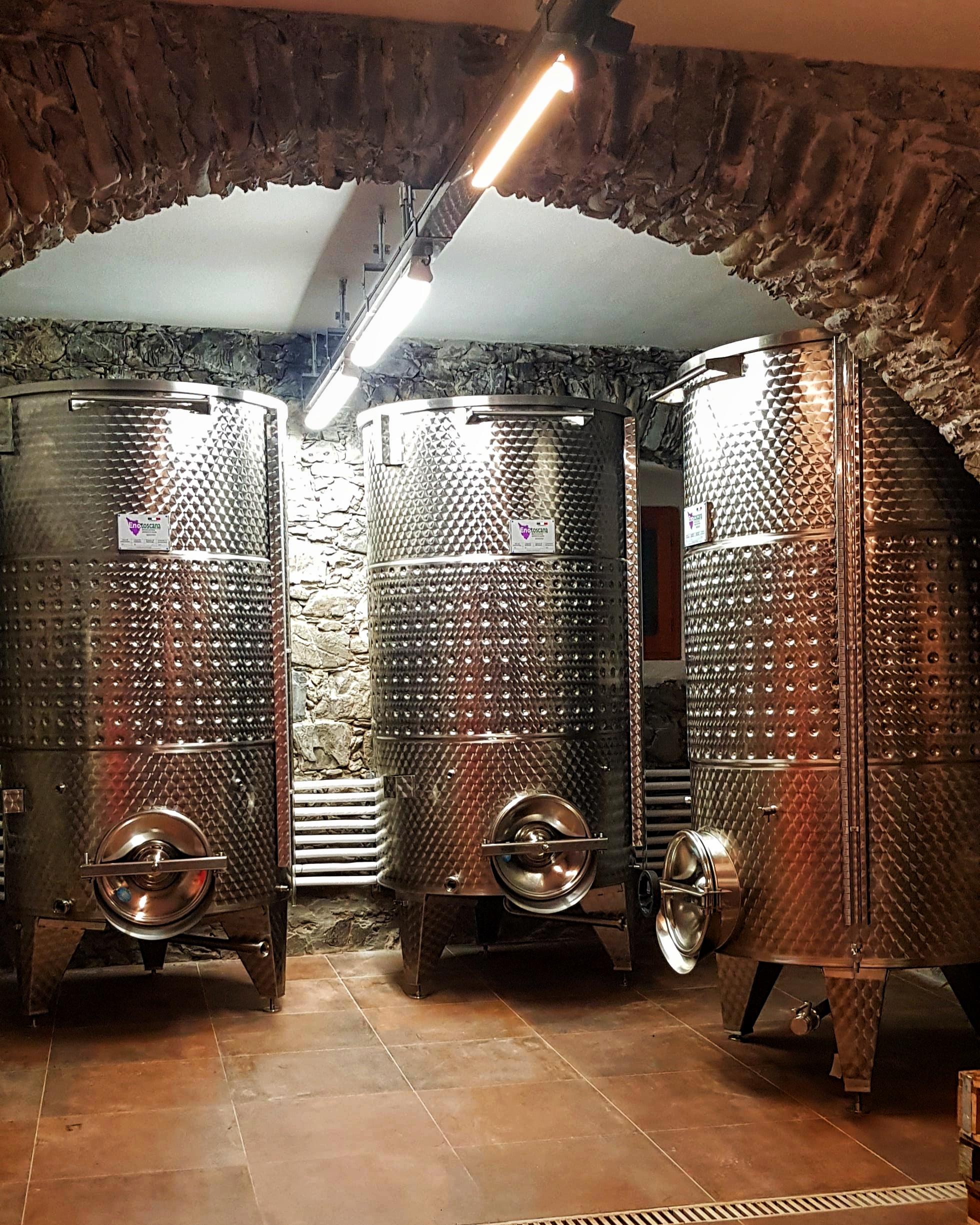 Cantina e fermentazione La Chiosa