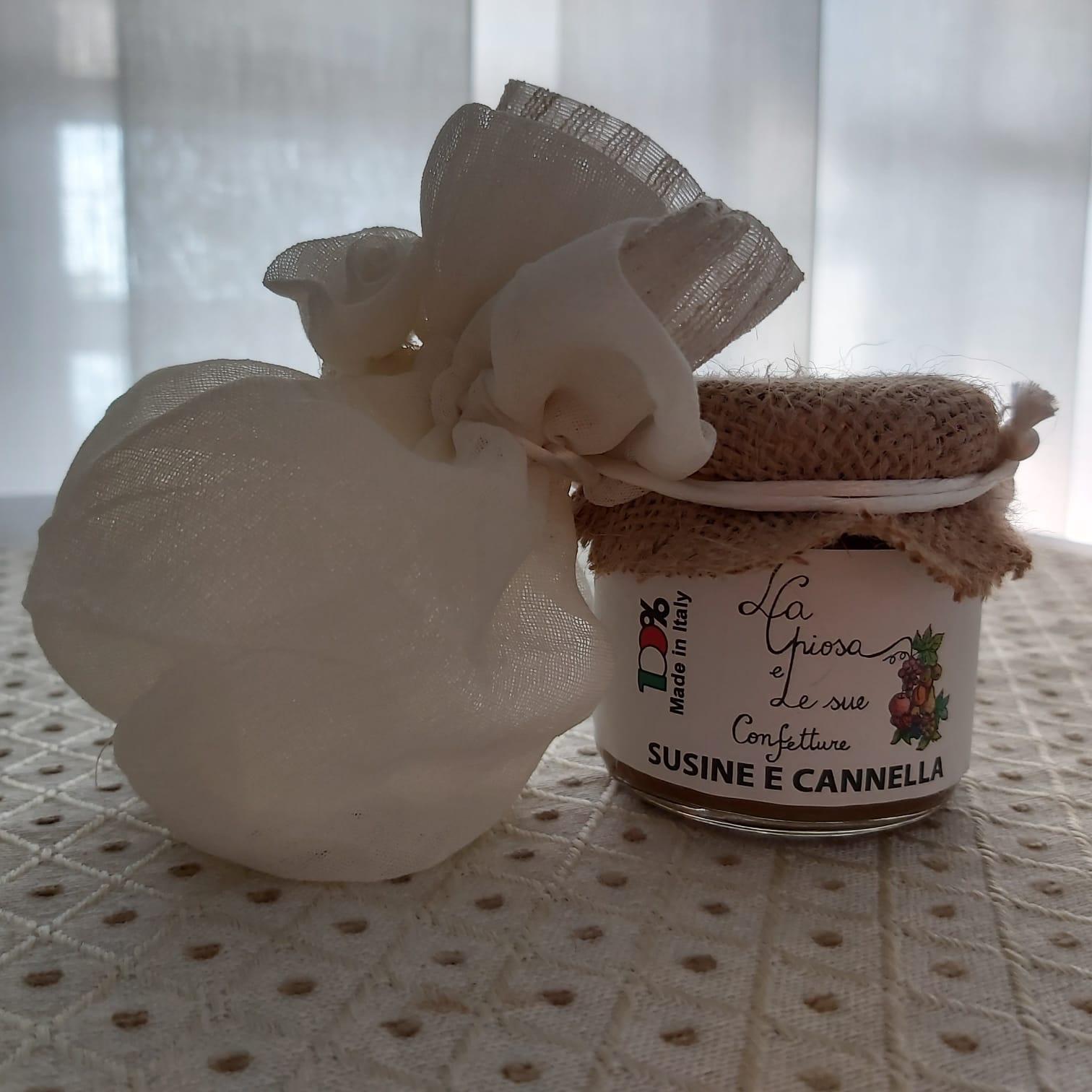 Confettura susine e cannella La Chiosa