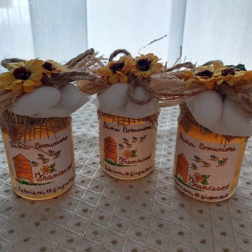 Vasetti di miele per comunioni